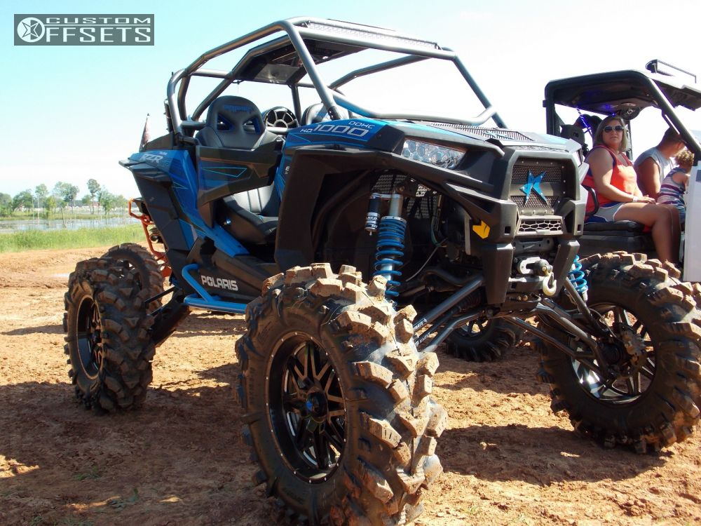 Wheel Offset 2015 Polaris Rzr 1000 Outside Flares Lifted 9
