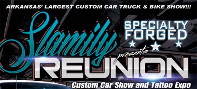 Slamily Reunion Car Show Tattoo Expo