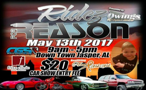 4th Annual Ridez For A Reason Presented By Owings Vinyl Metal Art