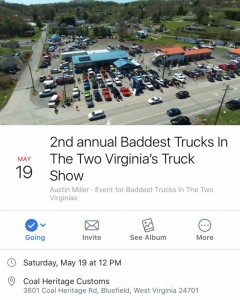 2nd Annual Baddest Trucks In The Two Virginias