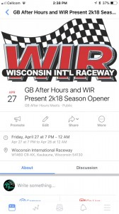 Gb After Hours And Wir Present Season Opener 2k18