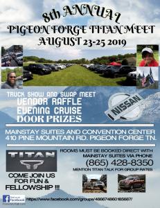 Pigeon Forge Nissan Titan Truck Meet