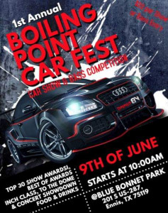 Boiling Point Car Festival
