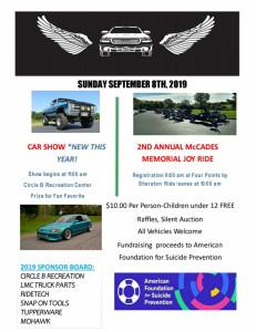Mccades Joyride And Car Show
