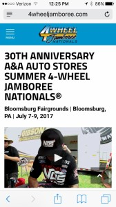 4 Wheel Jamboree Bloomsburg