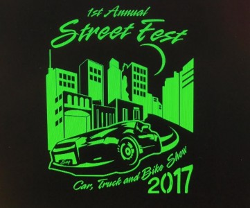 1st Annual Street Fest Car Truck And Bike Show