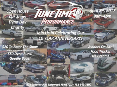 Tune Time Performance 10 Year Anniversary Open House Car Show Dyno Day