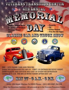 Veterans Transitition Center 4th Annual Memorial Day Classic Car And Truck Show