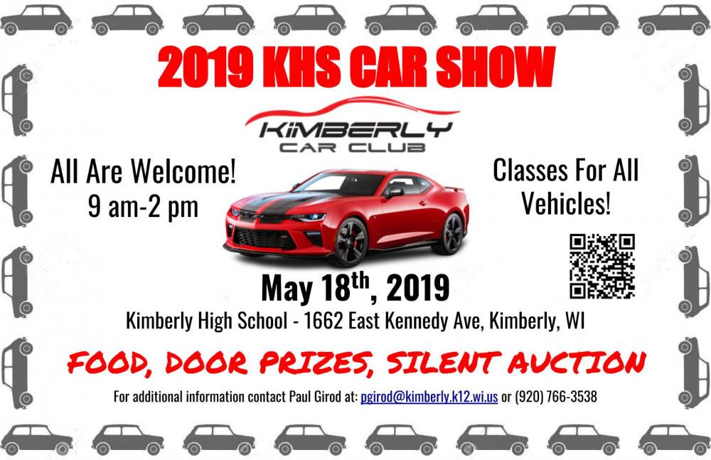 Kimberly High School Car Show