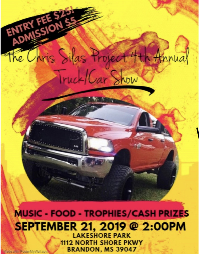 The Chris Silas Project 4th Annual Truck And Car Show
