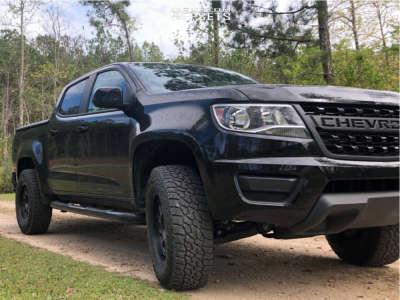 2019 Chevrolet Colorado - 17x8.5 0mm - Mayhem Voyager - Leveling Kit - 265/70R17