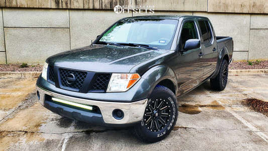 2007 Nissan Frontier - 16x8 10mm - XD Xd818 - Stock Suspension - 265/70R16