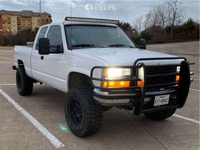 "1990 Chevrolet C1500 - 17x9 18mm - Vision Raptor - Suspension Lift 6"" & Body 3"" - 35"" x 12.5"""