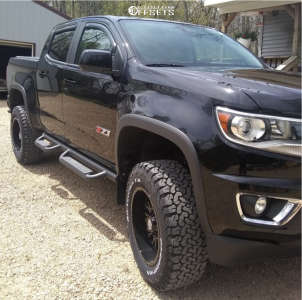 """2018 Chevrolet Colorado - 18x9 0mm - Panther Offroad 580 - Suspension Lift 4"""" - 275/65R18"""