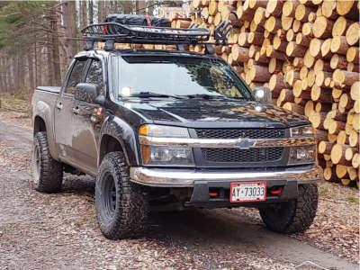 "2008 Chevrolet Colorado - 15x8 -6mm - Pro Comp 52 - Stock Suspension - 31"" x 10.5"""