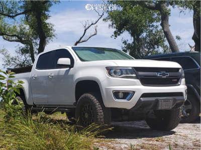 "2015 Chevrolet Colorado - 18x9 18mm - Anthem Off-Road Intimidator - Suspension Lift 4"" - 275/70R18"