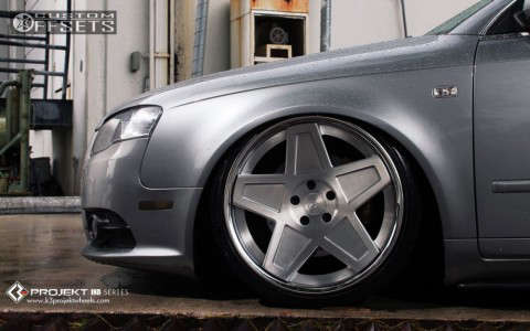 2007 Audi A4 - 19x9 30mm - K3 Projekt IND Series - 5SG - Air Suspension - 215/35R19