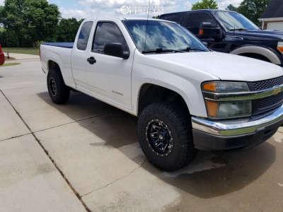 """2005 Chevrolet Colorado - 15x8 -18mm - Fuel Lethal - Suspension Lift 2.5"""" - 31"""" x 10.5"""""""
