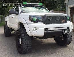 "2008 Toyota Tacoma - 18x9 -12mm - Fuel Hostage - Suspension Lift 6"" - 35"" x 12.5"""