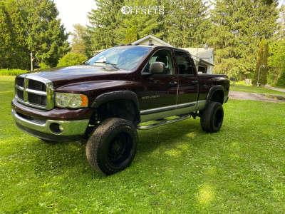 "2004 Dodge Ram 2500 - 20x12 -44mm - Black Rhino Arsenal - Suspension Lift 5"" - 35"" x 12.5"""