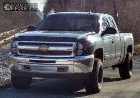 "2013 Chevrolet Silverado 1500 - 16x9 0mm - Pacer N/A - Suspension Lift 3.5"" - 305/70R16"