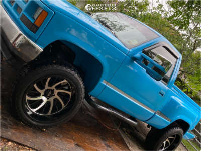 "1993 Chevrolet C1500 - 22x12 -44mm - XD Xd826 - Suspension Lift 6.5"" - 35"" x 12.5"""