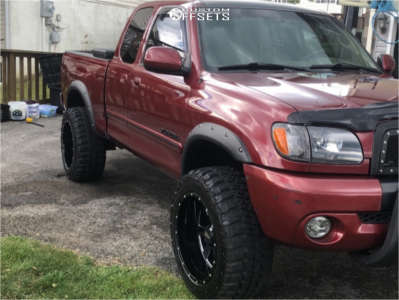 "2003 Toyota Tundra - 20x12 -44mm - Moto Metal Mo962 - Suspension Lift 2.5"" - 33"" x 12.5"""