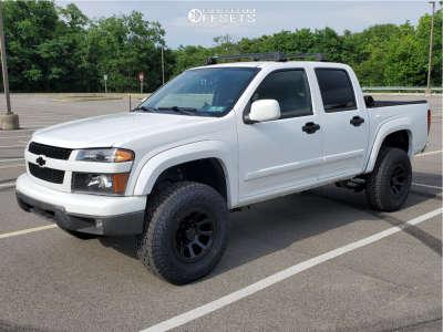 "2009 Chevrolet Colorado - 16x8 0mm - Vision Turbine - Suspension Lift 3"" - 265/75R16"