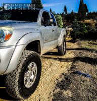 """2005 Toyota Tacoma - 16x8 1mm - Spaced Out Stockers Spaced Out Stockers - Suspension Lift 3"""" - 305/70R16"""