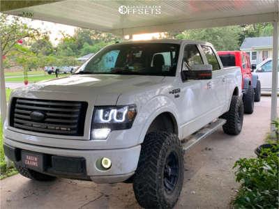 """2012 Ford F-150 - 17x12 0mm - XD Buck - Suspension Lift 6"""" - 35"""" x 12.5"""""""
