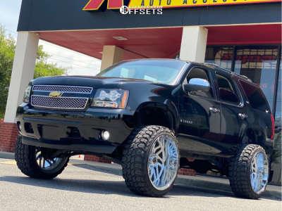 "2007 Chevrolet Tahoe - 26x14 -76mm - TIS 544C - Suspension Lift 7.5"" - 37"" x 13.5"""