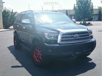 """2012 Toyota Sequoia - 20x9 18mm - XD Xd844 - Stock Suspension - 33"""" x 12.5"""""""
