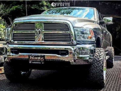 "2010 Dodge Ram 2500 - 20x12 -44mm - Dropstar 655c - Suspension Lift 3"" - 35"" x 13.5"""
