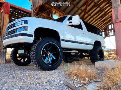 "1993 Chevrolet Blazer - 22x12 -51mm - ARKON OFF-ROAD Lincoln - Suspension Lift 6"" - 35"" x 12.5"""