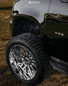 "2013 Chevrolet Tahoe - 24x12 -51mm - Vision Rocker - Suspension Lift 7.5"" - 37"" x 13.5"""