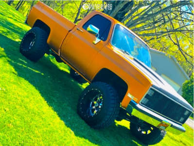 "1984 Chevrolet K10 - 20x14 -44mm - Fuel Maverick - Suspension Lift 4"" - 35"" x 12.5"""
