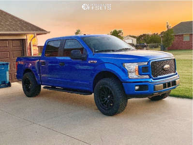 """2019 Ford F-150 - 20x10 -18mm - Fuel Rebel - Leveling Kit - 33"""" x 12.5"""""""