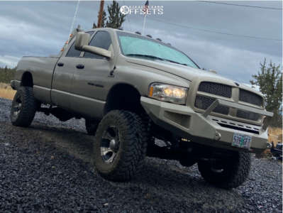 "2004 Dodge Ram 3500 - 17x10 -22mm - Dick Cepek Dc-1 - Suspension Lift 6"" - 35"" x 12.5"""