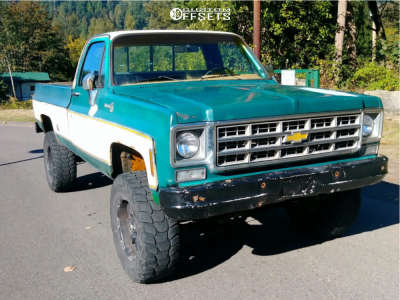 "1977 Chevrolet K10 Pickup - 17x8 0mm - Ultra Phantom 225 - Suspension Lift 4"" - 35"" x 12.5"""