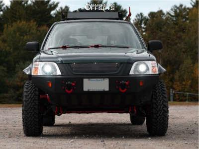 "1998 Honda CR-V - 16x8 0mm - Pro Comp Series 29 - Suspension Lift 3"" - 225/75R16"