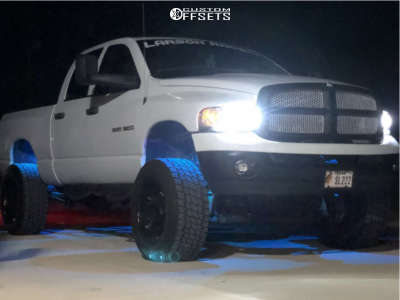 "2004 Dodge Ram 1500 - 20x12 -44mm - Fuel Octane - Suspension Lift 4.5"" - 35"" x 12.5"""