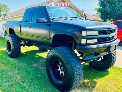 """1998 Chevrolet K1500 - 22x12 -44mm - Gear Off-road Big Block - Suspension Lift 8"""" - 44"""" x 85"""""""