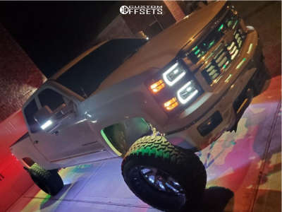 "2014 Chevrolet Impala - 24x14 -76mm - Xtreme Force Xf-8 - Suspension Lift 7.5"" - 33"" x 12.5"""