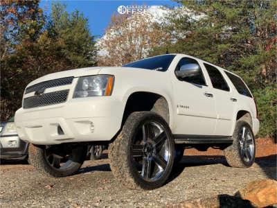 "2007 Chevrolet Tahoe - 26x10 25mm - Eclipse Replica 258 - Stock Suspension - 37"" x 13.5"""