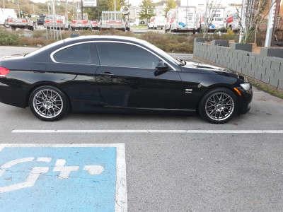 2009 BMW 328i xDrive - 17x8 35mm - Platinum Retribution - Stock Suspension - 225/45R17