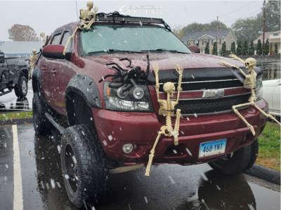 "2008 Chevrolet Avalanche - 20x12 -44mm - Pro Comp 01 - Suspension Lift 7.5"" & Body 3"" - 35"" x 12.5"""