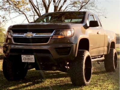"2016 Chevrolet Colorado - 22x12 -51mm - RBP 80r - Suspension Lift 6"" - 33"" x 12.5"""