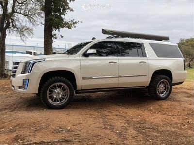 "2015 Cadillac Escalade ESV - 20x10 -12mm - RBP 69r - Leveling Kit - 31"" x 11.5"""