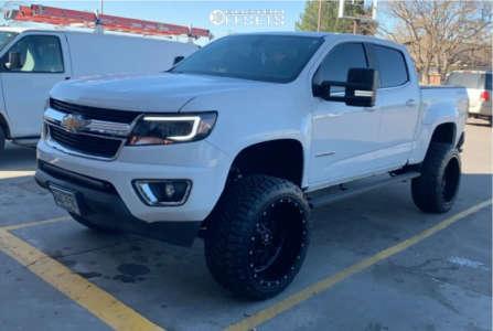 "2019 Chevrolet Colorado - 20x12 -44mm - RBP 65r - Suspension Lift 6"" - 33"" x 12.5"""