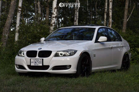 2009 BMW 328i xDrive - 18x8.5 35mm - Superspeed SS03 - Stock Suspension - 245/35R18